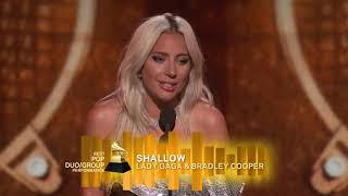 Download Lady Gaga Wins Best Pop Duo Or Group Performance | 2019 GRAMMYs Acceptance Speech Video