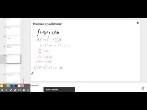 Integration by Substitution
