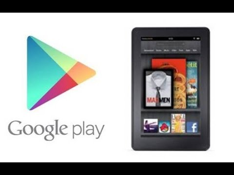 How to Get Google play apps On a Kindle Fire/Amazon Devices NO ROOT