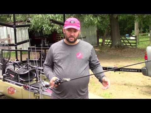 Kayak Bass Fishing Rod Arsenal