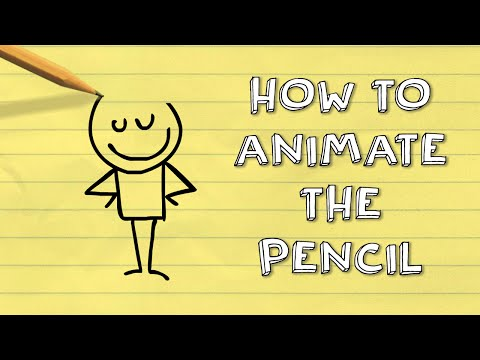 How to Animate the Pencil | Pencilmation Tutorial #3