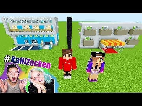 NINAS HOTEL vs KAANS HOTEL! In welchem kann man Urlaub machen? Minecraft Build Battle