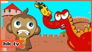 Adventures of Annie & Ben: Dragon of Krakow | Cartoons for Children | Funny Cartoons | HooplaKidz TV