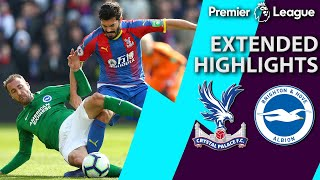 Crystal Palace v. Brighton | PREMIER LEAGUE EXTENDED HIGHLIGHTS | 3/9/19 | NBC Sports