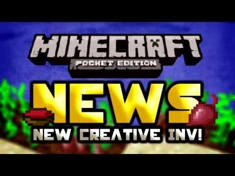 New creative inventory & Beetroots! | Update 0.8.0 | Minecraft Pocket Edition NEWS