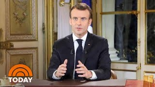 Emmanuel Macron, Theresa May Battle Growing Crises In Nations | TODAY