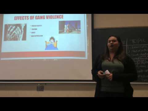 Gang Violence Informative Speech