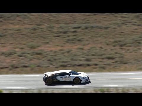 Bugatti Veyron Super Sport hits 246.4 MPH!!