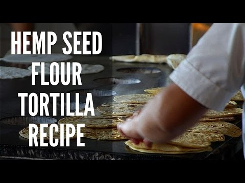 Hemp Seed Flour Tortilla Recipe