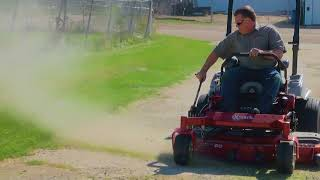 Don't Remove This On Your Lawn Mower - Chute Deflector - On