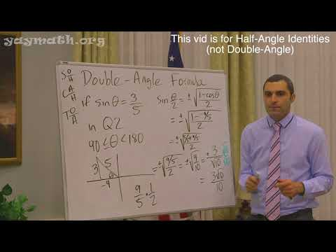 Trigonometry – Half-Angle Identities