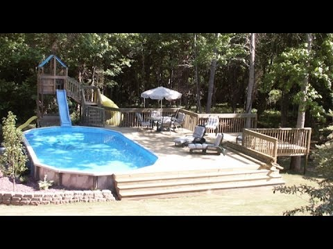 Above Ground Pool Deck Inspiration Gallery