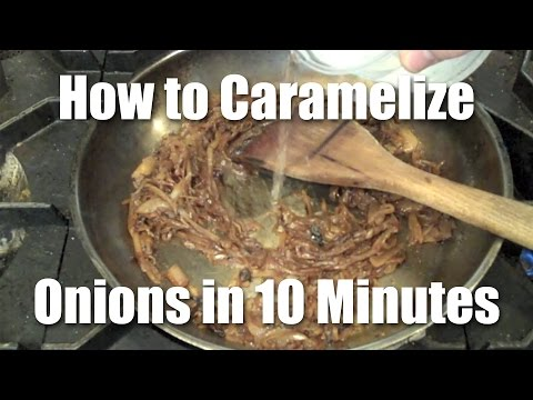 How to Quickly Caramelize Onions - Review