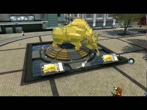 LEGO City Undercover 100% Guide - Downtown (Overworld Area) - All Collectibles