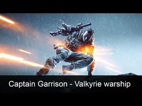 Captain Garrison - Valkyrie warship scene