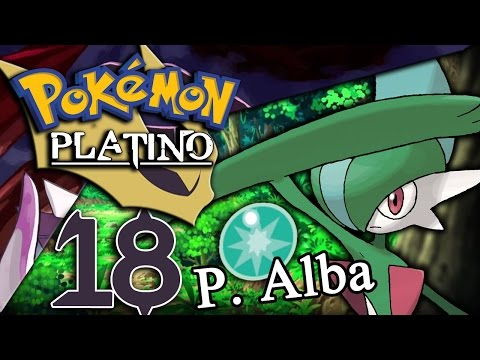 Pokémon Platino EP.18 Gallade y la Piedra Alba | The Movie
