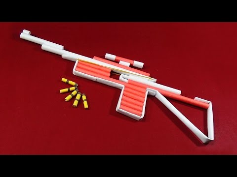 DIY - How To Make A Paper Gun | Very Easy And Simple Steps |