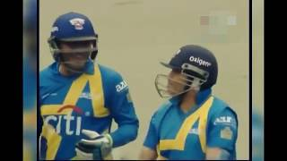 Sachin and Sehwag Amazing Opening Partnership | All Stars Cricket | Cric special #3