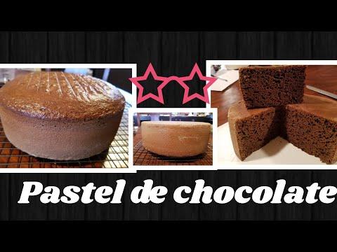 Pastel de chocolate delicioso