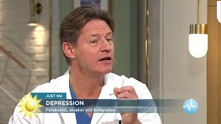 Doktor Mikael: 5 symptom på depression - Nyhetsmorgon (TV4)
