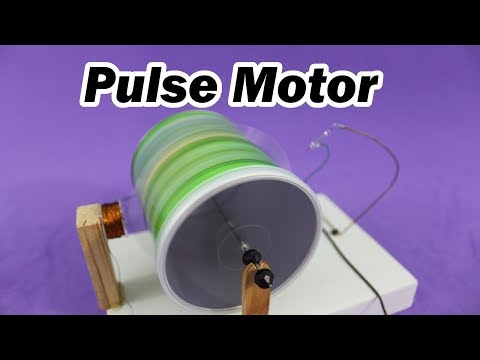 Chips Can Pulse Motor -Works at 0.25 Volts