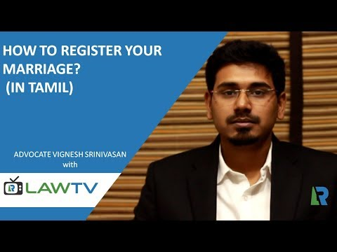 Indian Kanoon - How to register your marriage? (In tamil) - LawRato.com