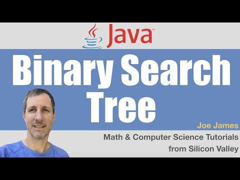 Java Binary Search Tree BST