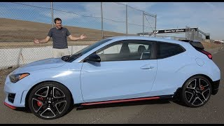 The 2019 Hyundai Veloster N Is a Thrilling Hot Hatchback