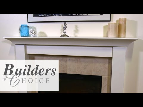 Builders Choice Fireplace Leg, Skirt and Mantel Install