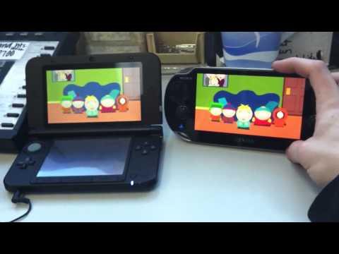3DS XL Vs. Vita - Screen Size & Netflix