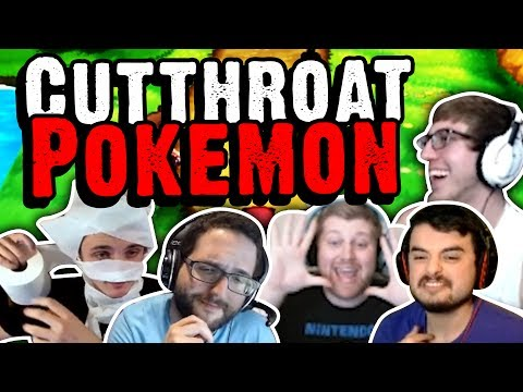 TOILET PAPER?! | Cutthroat Pokemon X and Y 5-Player Nuzlocke Versus | Part 1