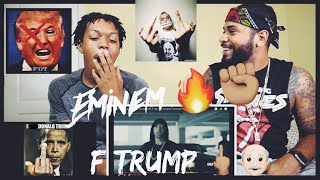 Eminem Rips Donald Trump In BET Hip Hop Awards Freestyle Cypher | FVO Reaction