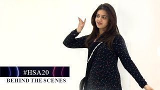 Zara Noor Abbas grooves to music at the rehearsals of HUM Style Awards 2020