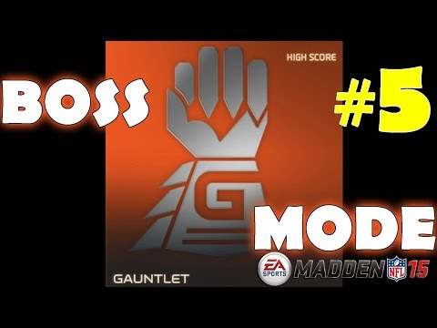 Gauntlet Boss #5 in Madden NFL 15