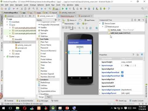 Android How to Create Input Dialog - krumony