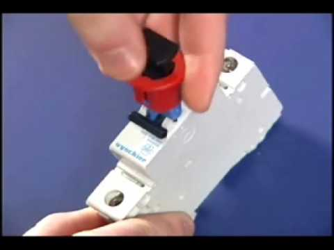 How To Operate A MCB PIS LOCKOUT DEVICE
