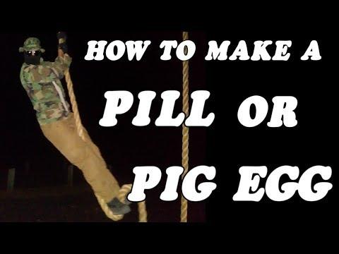 HOW TO MAKE A SANDBAG PIG EGG (SPEC OPS TRAINING)