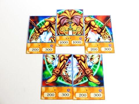 YUGIOH ORICA ANIME STYLE CARDS ON EBAY!!