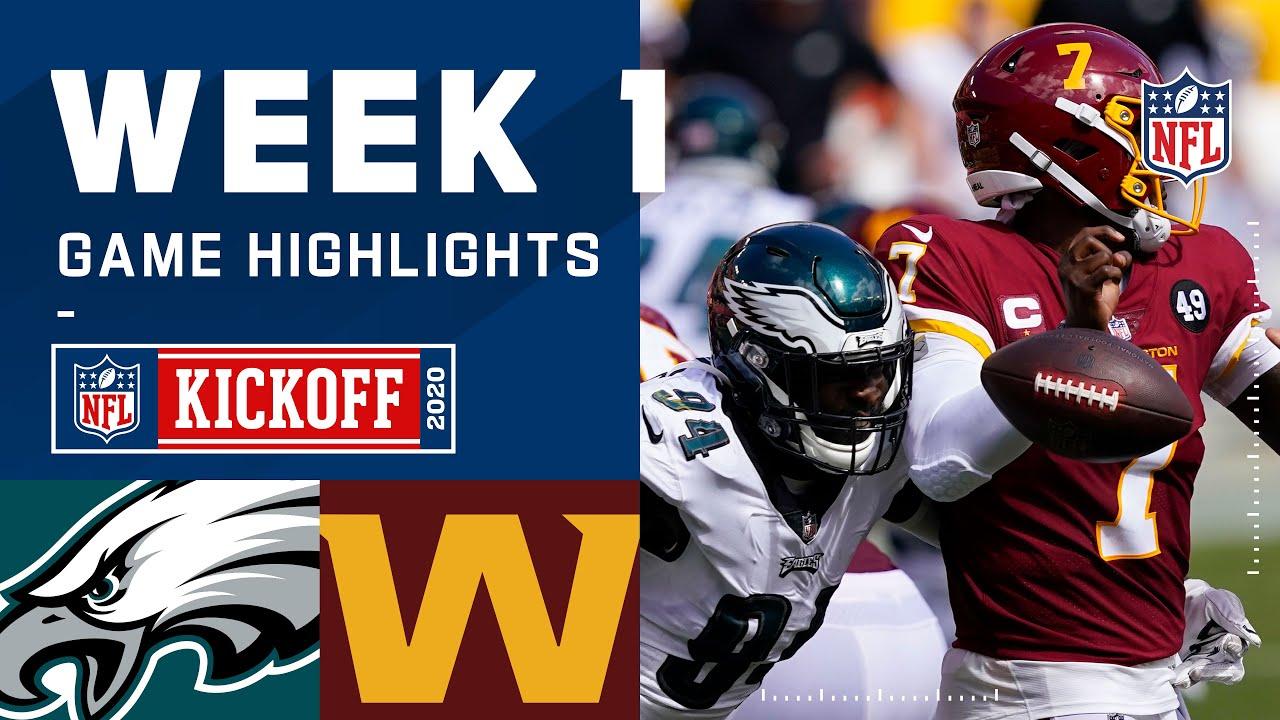 Eagles vs. Washington Football Team Week 1 Highlights   NFL 2020