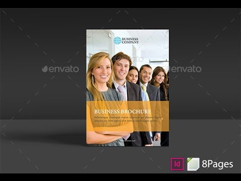 Business Brochure Teamplate 8 Pages