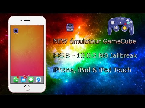 NEW émulateur GameCube iOS 8 - 10.0.2 NO Jailbreak iPhone, iPad & iPod Touch