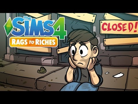Going Out of Business | Sims 4 Rags to Riches Ep.16