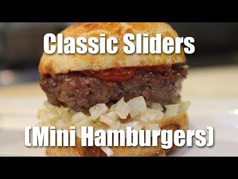 How to Make Sliders (Miniature Hamburgers)