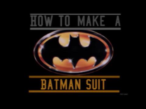 How to Make a Batman Cape