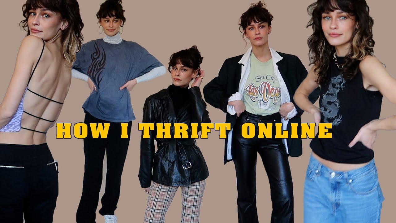 HOW I THRIFT ONLINE ft/ depop 🧥👖| VANELLIMELLI