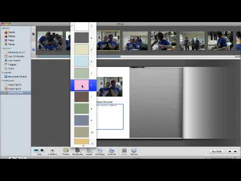 How To Create a Book Using iPhoto!