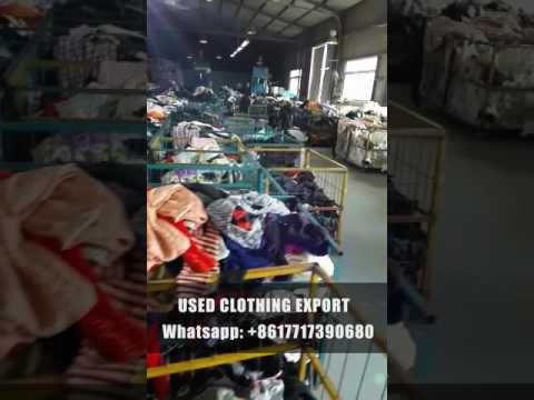 Used Clothing Wholesale From China