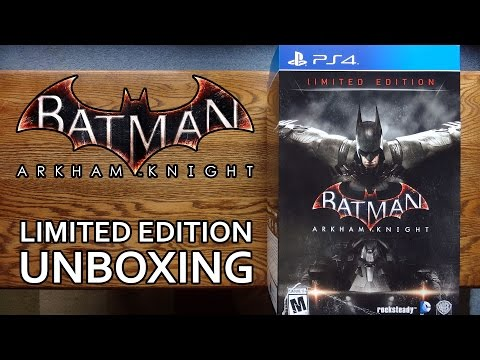 Batman Arkahm Knight Limited Edition Collector's Edition Unboxing & Review - HD 1080p