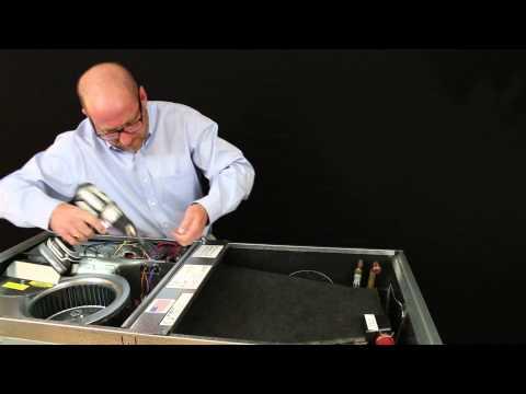 Allstyle AH Series air handler drain pan removal