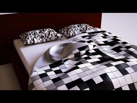 Tutorial - 3ds max bed cover
